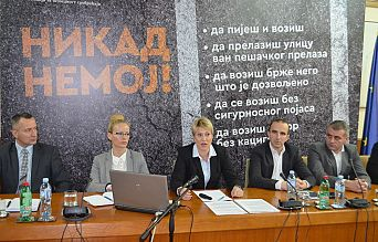 PRESS CONFERENCE AT THE ROAD TRAFFIC SAFETY AGENCY | Agencija za bezbednost saobraćaja