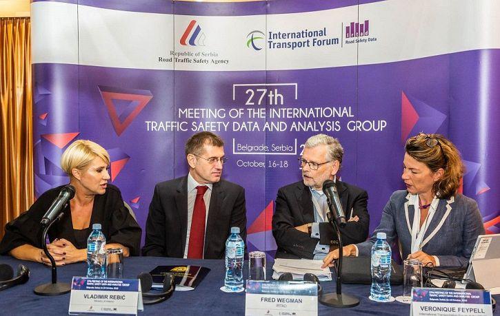 27. заседањe Међународне групе за податке и анализе безбедности саобраћаја ИРТАД-а, у Београду | Agencija za bezbednost saobraćaja