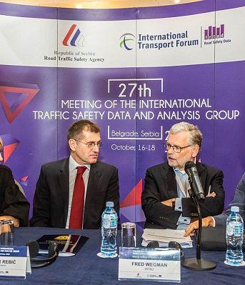 27. заседањe Међународне групе за податке и анализе безбедности саобраћаја ИРТАД-а, у Београду