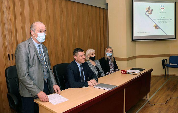 Predstavljen sistem video nadzora za automatsku detekciju saobraćajnih prekršaja u Smederevu | Agencija za bezbednost saobraćaja