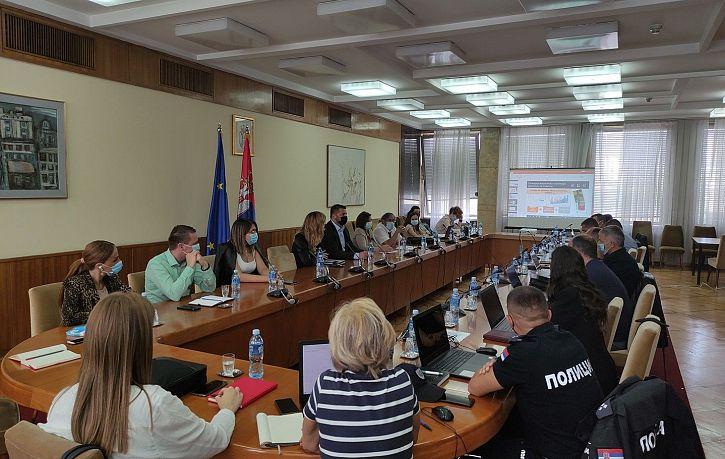 Одржана обука за коришћење локалних база података о обележјима безбедности саобраћаја у Београду | Agencija za bezbednost saobraćaja