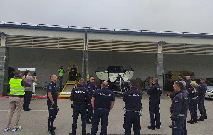 Обука припадника Саобраћајне полиције ПУ Ваљево о значају коришћења безбедносног седишта и сигурносног појаса | Agencija za bezbednost saobraćaja