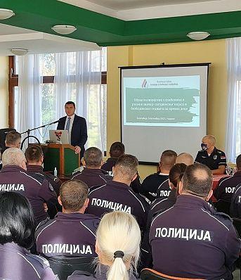 """Обука припадника Саобраћајне полиције и """"Европска недеља мобилности"""" на Златибору"""