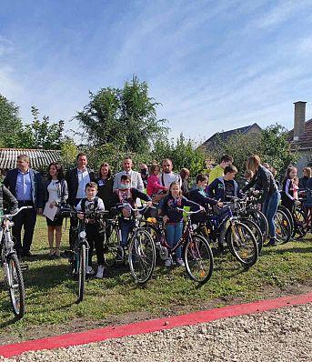 Безбедност деце бициклиста у Српској Црњи