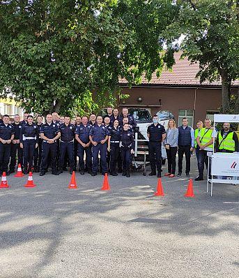 Завршена обука припадника Саобраћајне полиције РС о улози и значају сигурносног појаса и безбедносног седишта за децу